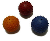 Rubber Squeaky Ball Dog Toy 2 3/8''(6cm)-Doberman Dog Toys