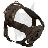 All seasons choice nylon Doberman harness for all kinds of activities