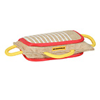 3 Handled Bite Pillow-Training Jute Bite PAD Doberman training