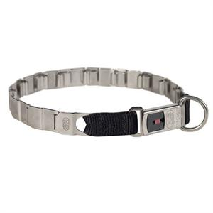 NECK TECH FUN STAINLESS STEEL dog collar 24 inch (60 cm)