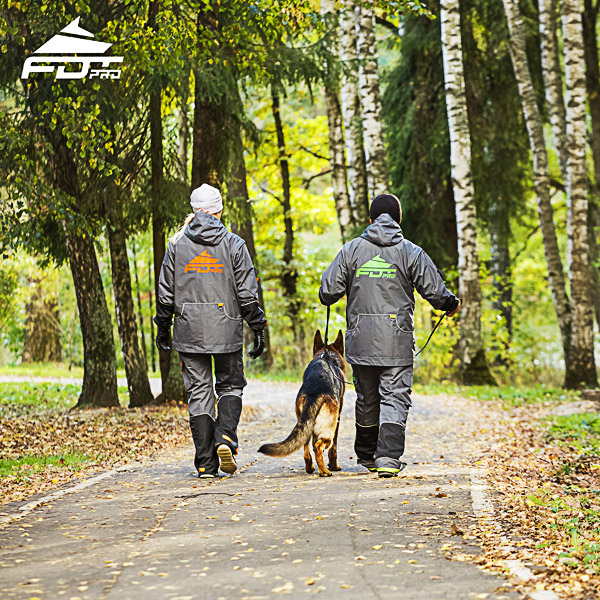 FDT Professional Dog Training Jacket of Finest Quality for Any Weather Conditions