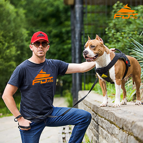 Men T-shirt of Top Notch Cotton with FDT Professional Logo for Dog Trainers