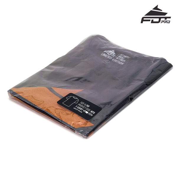 Filled FDT Pro Design T-shirt Dark Grey Color