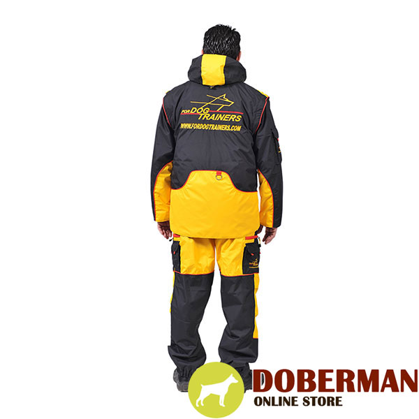 Professional Dog Training Suit of Waterproof Material