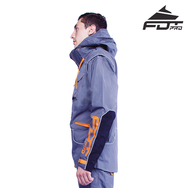 FDT Pro Dog Trainer Jacket of High Quality for All Weather Use