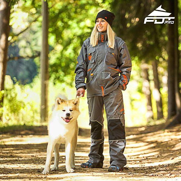 Unisex Design Dog Tracking Jacket of Best Quality Materials