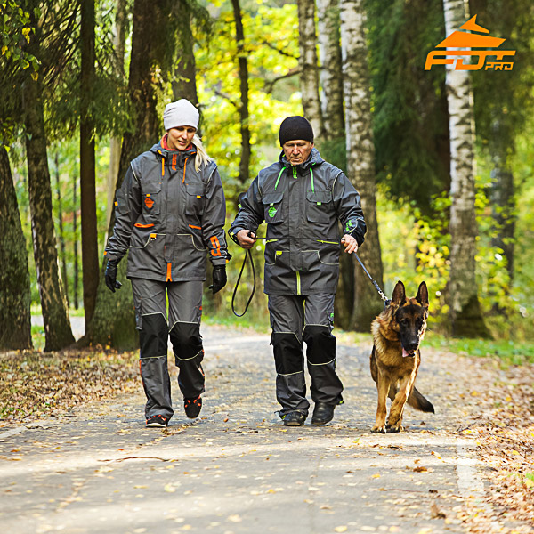 Any Weather Conditions Strong Dog Tracking Suit for Men and Women