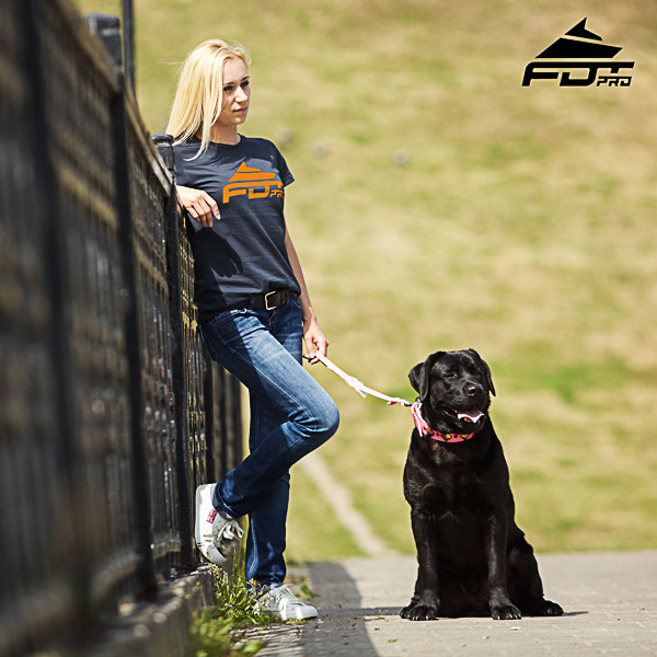 Women T-shirt of Strong Cotton for Dog Trainers