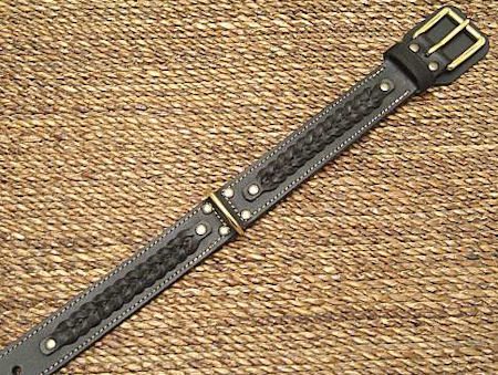 2in Heavy Duty Leather Collar - AMISH BELT-STYLE