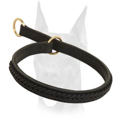 Extra strong choke collar for Doberman