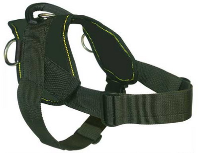 Doberman nylon dog harness(handmade dog harness)