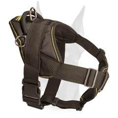 New design nylon Doberman harness