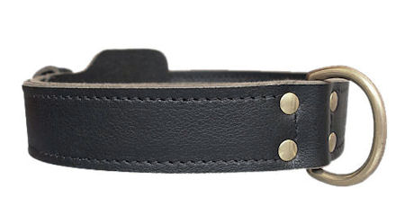 Doberman K9 Leather Agitation Collar aprox.2 Wide
