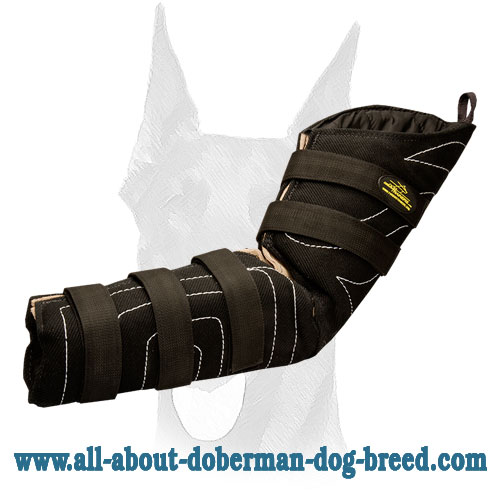 Strong bite sleeve for Doberman