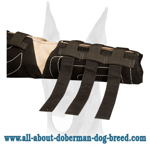 Protection bite sleeve for Doberman