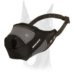 Super comfortable muzzle with good air-flow