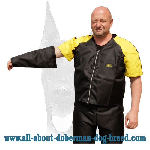 Nylon protection jacket and pants for Doberman training