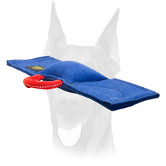 Lightweight training bite pad with comfy handle